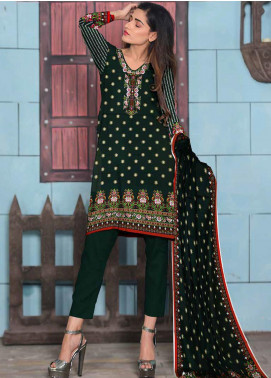 Ittehad Textiles Printed Lawn Unstitched 3 Piece Suit ITD20CL 52B - Summer Collection