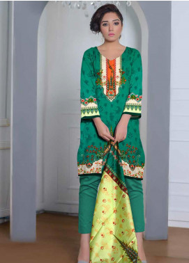Ittehad Textiles Printed Lawn Unstitched 3 Piece Suit ITD20CL 53B - Summer Collection