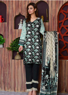 Ittehad Textiles Printed Lawn Unstitched 3 Piece Suit ITD20CL 58C - Summer Collection