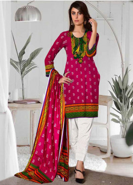 Ittehad Textiles Printed Lawn Unstitched 3 Piece Suit ITD20CL 61A - Summer Collection