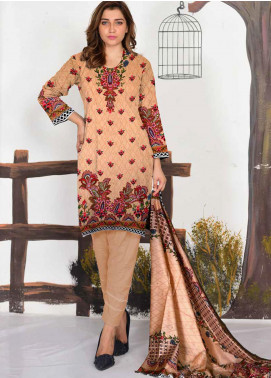 Ittehad Textiles Printed Lawn Unstitched 3 Piece Suit ITD20CL 65A - Summer Collection