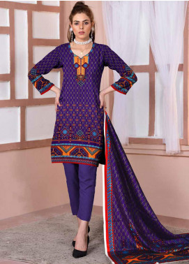 Ittehad Textiles Printed Lawn Unstitched 3 Piece Suit ITD20CL 68A - Summer Collection