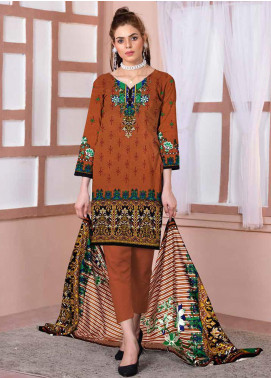 Ittehad Textiles Printed Lawn Unstitched 3 Piece Suit ITD20CL 69A - Summer Collection