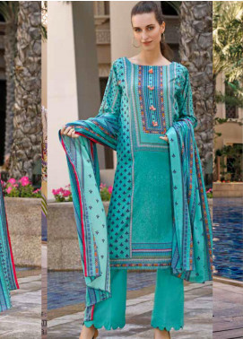 Ittehad Textiles Printed Lawn Unstitched 3 Piece Suit ITD20CS 20B - Summer Collection