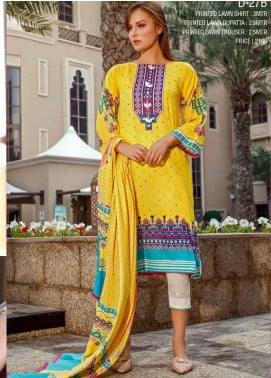 Ittehad Textiles Printed Lawn Unstitched 3 Piece Suit ITD20CS 27B - Summer Collection