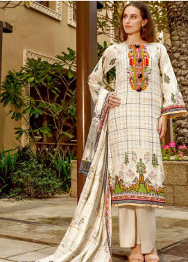 Ittehad Textiles Printed Lawn Unstitched 3 Piece Suit ITD20CS 28A - Summer Collection