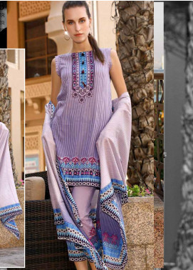 Ittehad Textiles Printed Lawn Unstitched 3 Piece Suit ITD20CS 33B - Summer Collection