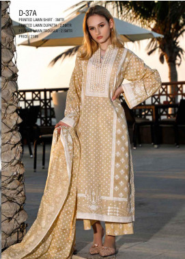 Ittehad Textiles Printed Lawn Unstitched 3 Piece Suit ITD20CS 37A - Summer Collection