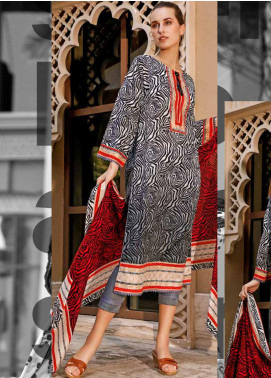 Ittehad Textiles Printed Lawn Unstitched 3 Piece Suit ITD20CS 39A - Summer Collection