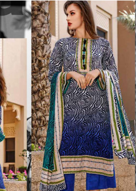 Ittehad Textiles Printed Lawn Unstitched 3 Piece Suit ITD20CS 39B - Summer Collection