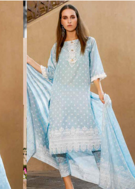 Ittehad Textiles Printed Lawn Unstitched 3 Piece Suit ITD20CS 40B - Summer Collection