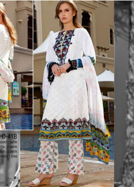 Ittehad Textiles Printed Lawn Unstitched 3 Piece Suit ITD20CS 41B - Summer Collection