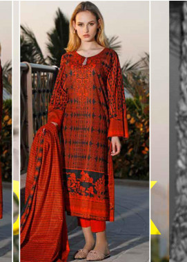 Ittehad Textiles Printed Lawn Unstitched 3 Piece Suit ITD20CS 42C - Summer Collection