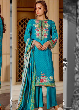 Ittehad Textiles Printed Lawn Unstitched 3 Piece Suit ITD20CS 45B - Summer Collection