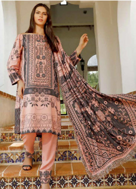Ittehad Textiles Embroidered Linen Unstitched 3 Piece Suit ITD19DW AUTUMN GLORY - Winter Collection