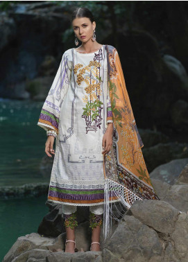 Ittehad Textiles Embroidered Lawn Unstitched 3 Piece Suit ITD20DG ROSETTE - Summer Collection