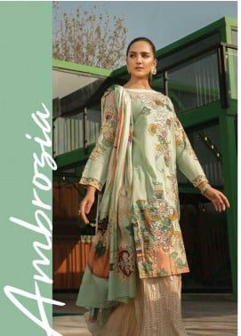 Ittehad Textiles Embroidered Lawn Unstitched 3 Piece Suit ITD19-L2 AMBROZIA - Mid Summer Collection