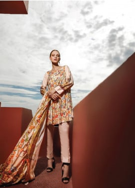Ittehad Textiles Printed Linen Unstitched 3 Piece Suit ITD19L 4 - Fall Collection