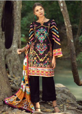 Ittehad Textiles Embroidered Lawn Unstitched 3 Piece Suit ITE20SL ORNAMENTAL GARDEN - Summer Collection