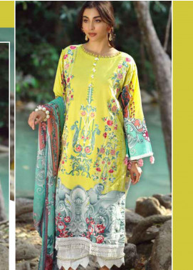 Ittehad Textiles Embroidered Lawn Unstitched 3 Piece Suit ITE20SL SUMMER LIME - Summer Collection