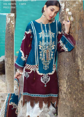 Ittehad Textiles Embroidered Lawn Unstitched 2 Piece Suit ITE20SL TRIBAL MAZE - Summer Collection
