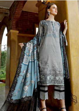 Ittehad Textiles Embroidered Khaddar Unstitched 3 Piece Suit ITD19EW CAPRI - Winter Collection