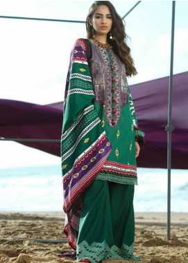Ittehad Textiles Embroidered Viscose Unstitched 3 Piece Suit ITD20FW 03 SERENE GARLAND - Winter Collection