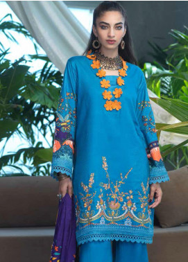 Ittehad Textiles Embroidered Linen Unstitched 3 Piece Suit ITD20FW 22 MARLAIS - Winter Collection