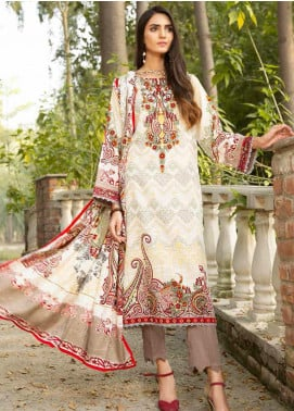 Ittehad Textiles Printed Khaddar Unstitched 3 Piece Suit ITD20KD 4503-A - Winter Collection