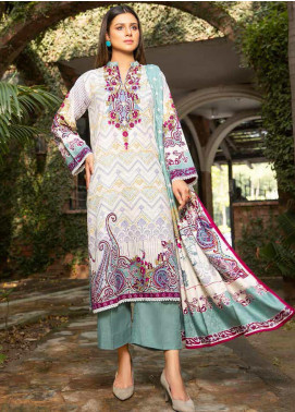 Ittehad Textiles Printed Khaddar Unstitched 3 Piece Suit ITD20KD 4503-B - Winter Collection