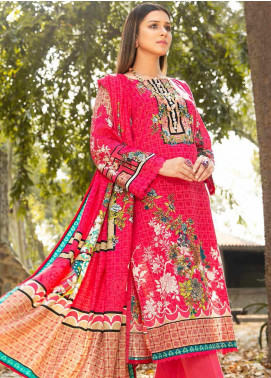 Ittehad Textiles Printed Khaddar Unstitched 3 Piece Suit ITD20KD 4505-B - Winter Collection