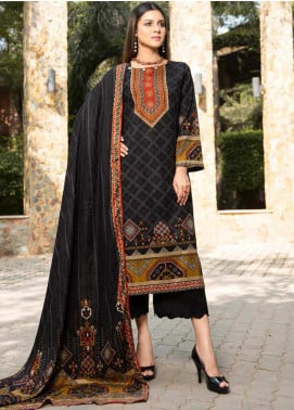 Ittehad Textiles Printed Khaddar Unstitched 3 Piece Suit ITD20KD 4511-B - Winter Collection