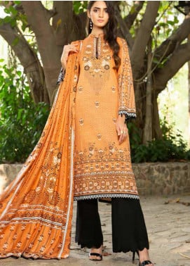 Ittehad Textiles Printed Khaddar Unstitched 3 Piece Suit ITD20KD 4512-A - Winter Collection