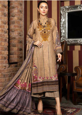 Ittehad Textiles Printed Khaddar Unstitched 3 Piece Suit ITD20KD 4514-A - Winter Collection