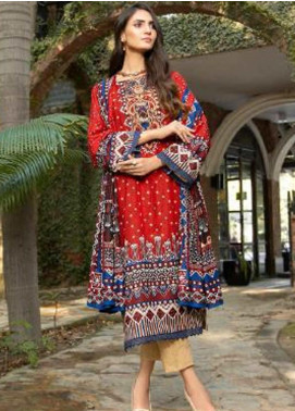 Ittehad Textiles Printed Khaddar Unstitched 3 Piece Suit ITD20KD 4516-B - Winter Collection