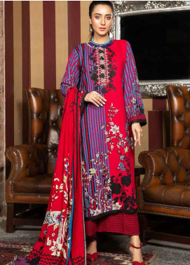 Ittehad Textiles Printed Khaddar Unstitched 3 Piece Suit ITD20KD 4519-A - Winter Collection