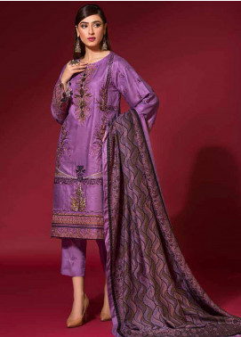 Ittehad Textiles Embroidered Linen Unstitched 3 Piece Suit ITD20PS 09 DULCET - Winter Collection