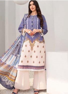 Signature Prints by Ittehad Textiles Printed Cotton Unstitched 3 Piece Suit ITD20SP 10 Moon Shine - Winter Collection
