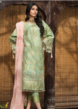 Ittehad Textiles Embroidered Jacquard Unstitched 3 Piece Suit ITD20F 10 Baran - Spring / Summer Collection