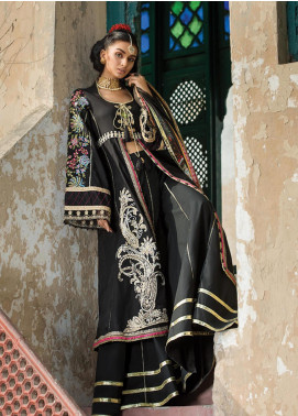 Ittehad Textiles Embroidered Lawn Unstitched 3 Piece Suit ITD20F 12 Gulnur - Spring / Summer Collection