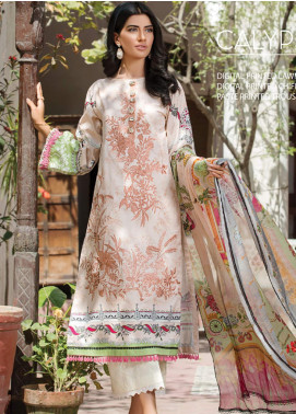 Ittehad Textiles Embroidered Lawn Unstitched 3 Piece Suit ITD20F 15 Calypso - Spring / Summer Collection