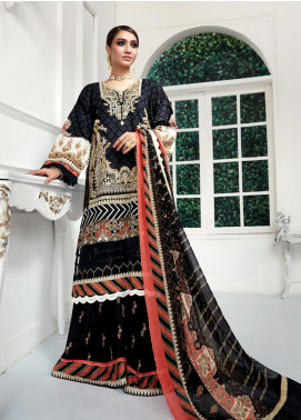 Ittehad Textiles Embroidered Lawn Unstitched 3 Piece Suit ITD20F 26 Fiala - Spring / Summer Collection