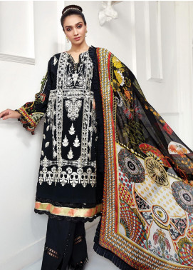 Ittehad Textiles Embroidered Lawn Unstitched 3 Piece Suit ITD20F 28 Woorud - Spring / Summer Collection