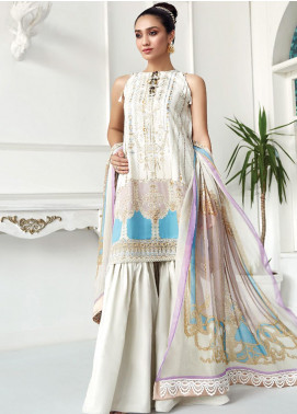 Ittehad Textiles Embroidered Lawn Unstitched 3 Piece Suit ITD20F 29 Rawada - Spring / Summer Collection