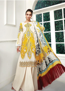 Ittehad Textiles Embroidered Lawn Unstitched 3 Piece Suit ITD20F 30 Aini - Spring / Summer Collection