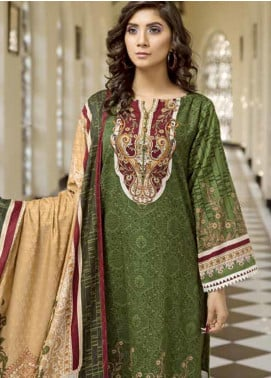 Ittehad Textiles Printed Khaddar Unstitched 3 Piece Suit ITD19GK 2603A - Winter Collection