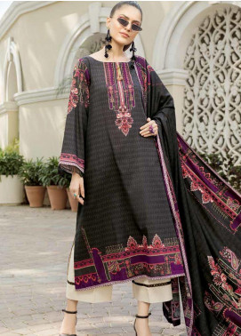 Ittehad Textiles Printed Khaddar Unstitched 3 Piece Suit ITD19GK 2604B - Winter Collection