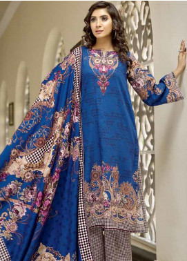 Ittehad Textiles Printed Khaddar Unstitched 3 Piece Suit ITD19GK 2606A - Winter Collection