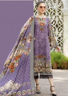 Ittehad Textiles Printed Khaddar Unstitched 3 Piece Suit ITD19GK 2606B - Winter Collection