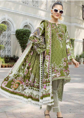 Ittehad Textiles Printed Khaddar Unstitched 3 Piece Suit ITD19GK 2607A - Winter Collection